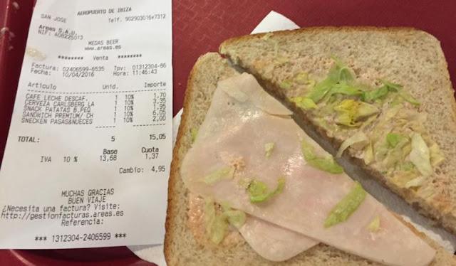 columna Josetxu Rodríguez, sandwich premium, Ibiza,