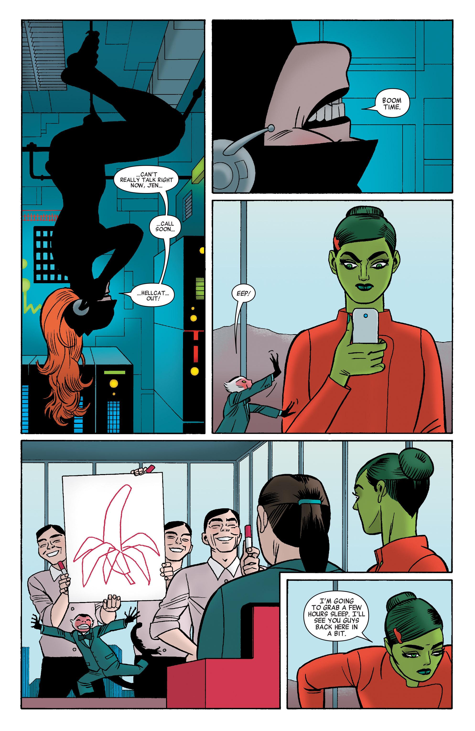 Read online She-Hulk (2014) comic -  Issue #9 - 14