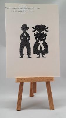 cardsNpaperart oud Nederlands sjabloon