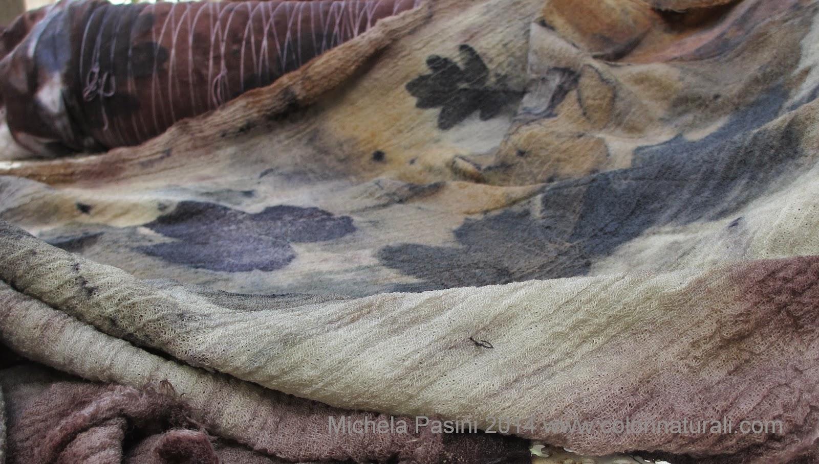 abbigliamento sostenibile ecoprint ecoprinting tintura naturale