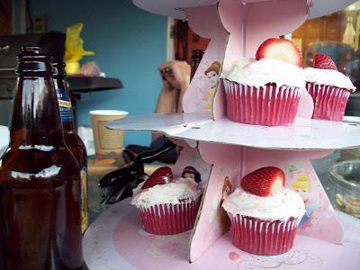 cupcakes, beer, spiritual food, western diet, healing bad eating habits