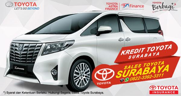 Promo DP Ringan, Paket Kredit Toyota Alphard Surabaya
