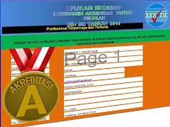 Aplikasi Skoring Akreditasi Sekolah untuk Sekolah Dasar