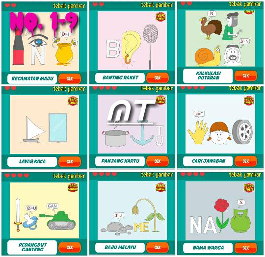 Jawaban Tebak Gambar Level 12 Nomor 1 Sampai 20 Inspirasi Desain Menarik