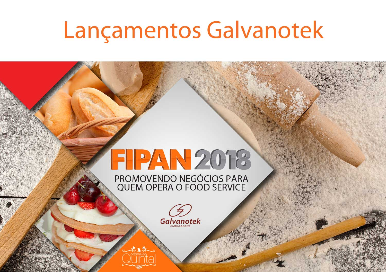 Galvanotek na FIPAN 2018 - Confira os lançamentos na Cozinha do Quintal
