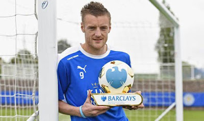 Jamie Vardy Of Leicester City Is Named Premier League Player Of The Season
