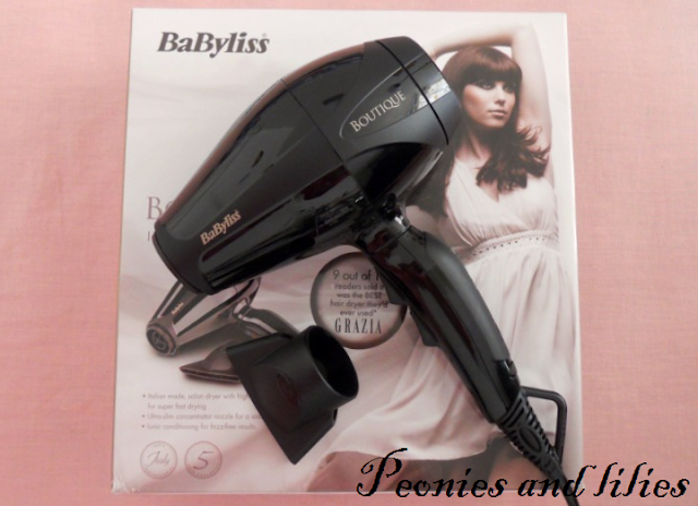 Babyliss boutique italian hairdryer, Babyliss boutique italian ac dryer 2400