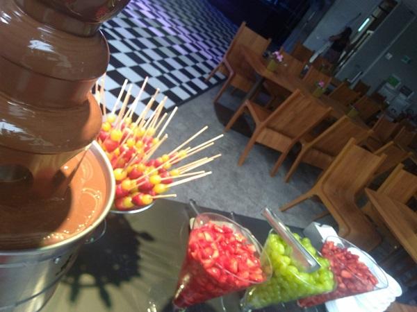 cascatas de chocolate em são paulo