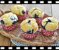 http://caroleasylife.blogspot.com/2016/07/blueberry-muffin.html