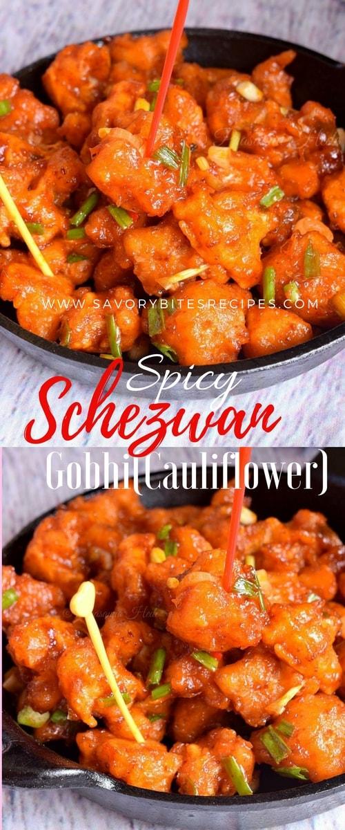 how to make spicy schezwan sauce