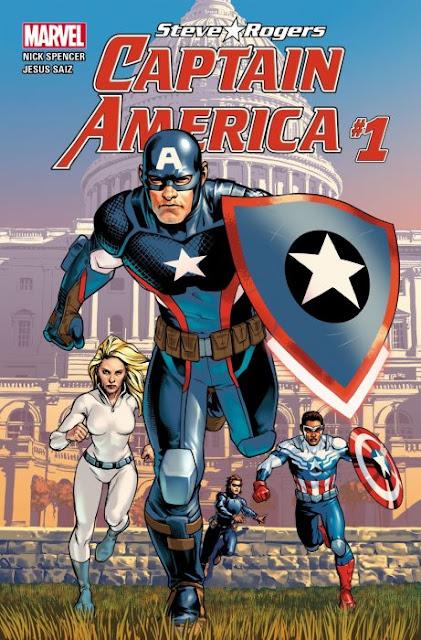 Ahora, Capitán América es agente secreto de los nazis Hydra