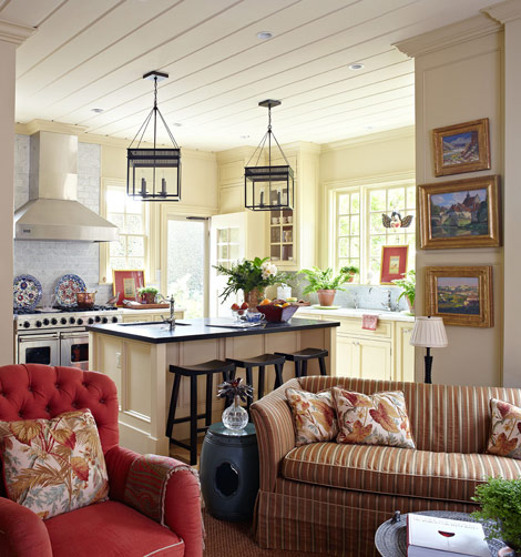 42 Gorgeous Living Room Color Ideas For Every Taste Best: Celebrity Homes Interior: House With Vibrant Colors And