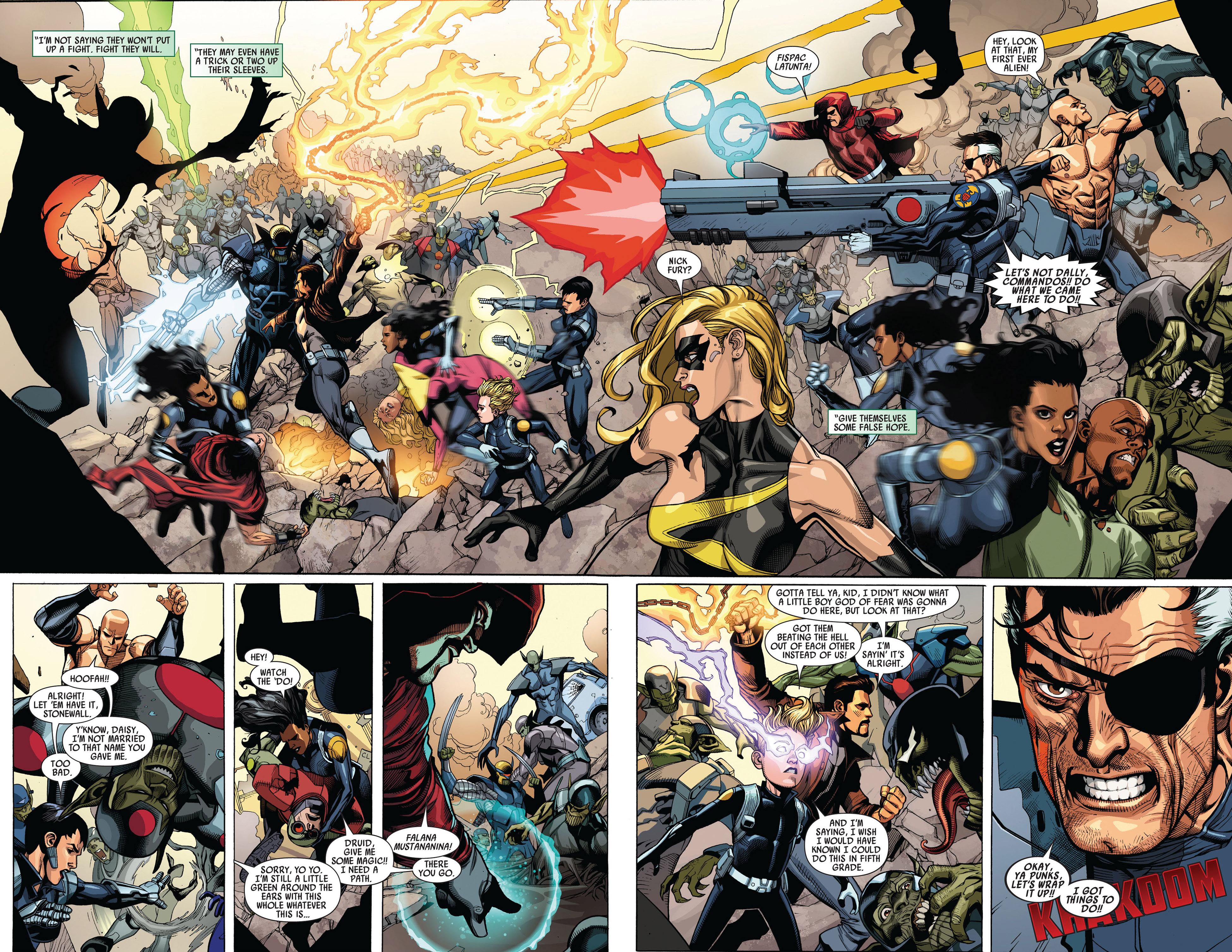 Read online Secret Invasion comic -  Issue #4 - 7