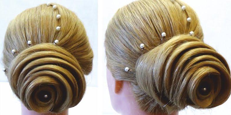 Groovy Gorgeous Hair Rose Video Tutorial Short Hairstyles Gunalazisus