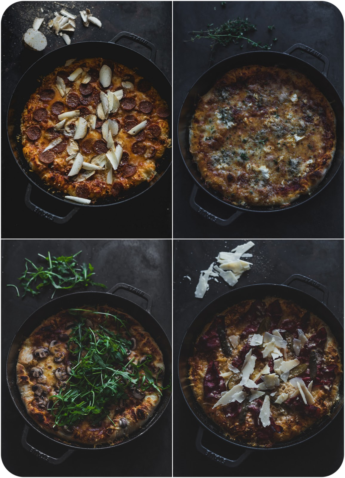 Cast-Iron Pan Pizza