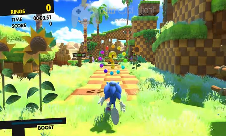 تحميل لعبة Sonic Forces للكمبيوتر
