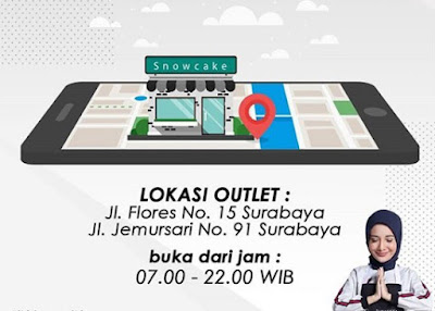 Daftar Alamat Surabaya Snowcake di Surabaya