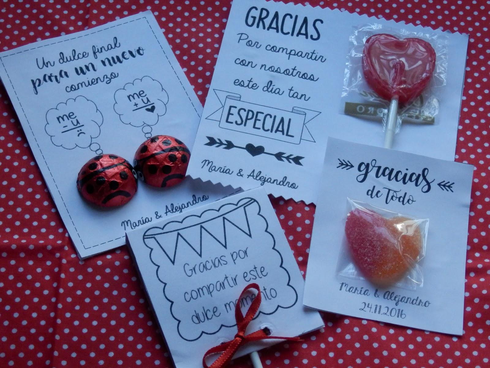 diy bodil manualidades para bodas tarjetas de agradecimiento