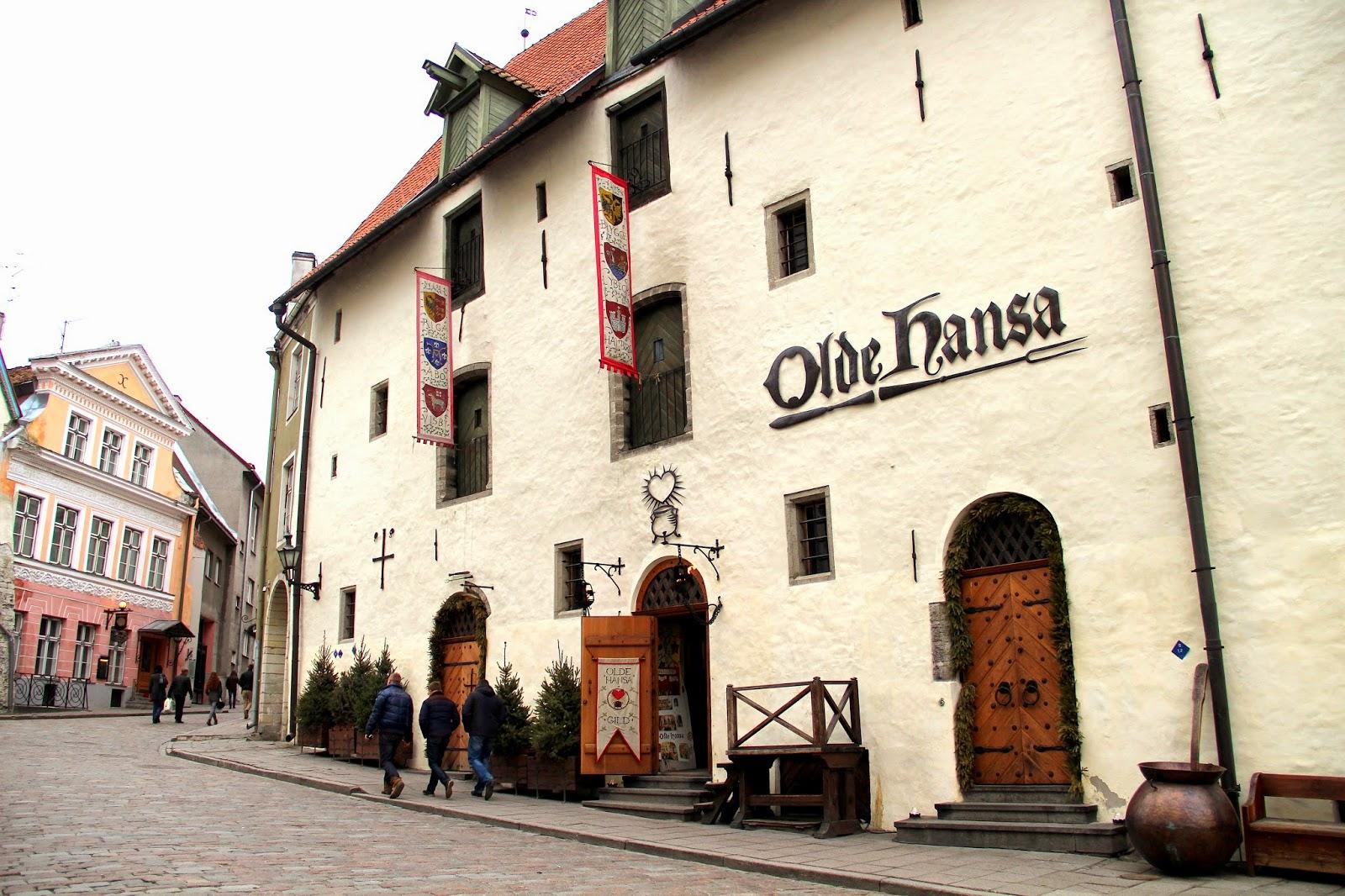 Olde Hansa Restaurant Tallinn
