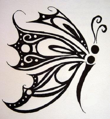mujer estilo y belleza dise os de tatuajes de mariposas 2
