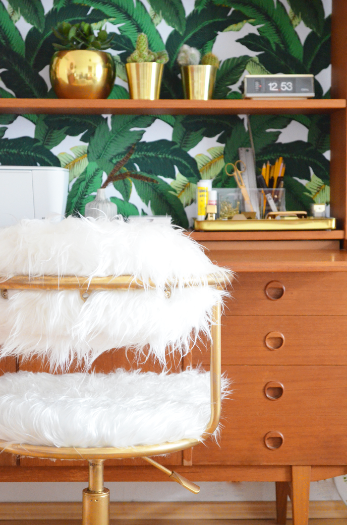 make it boho diy home office b rostuhl im mongolian style b ro zubeh r. Black Bedroom Furniture Sets. Home Design Ideas
