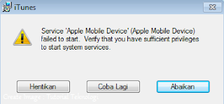 Itunes Error Ketika Di Install Di Windows Komputer