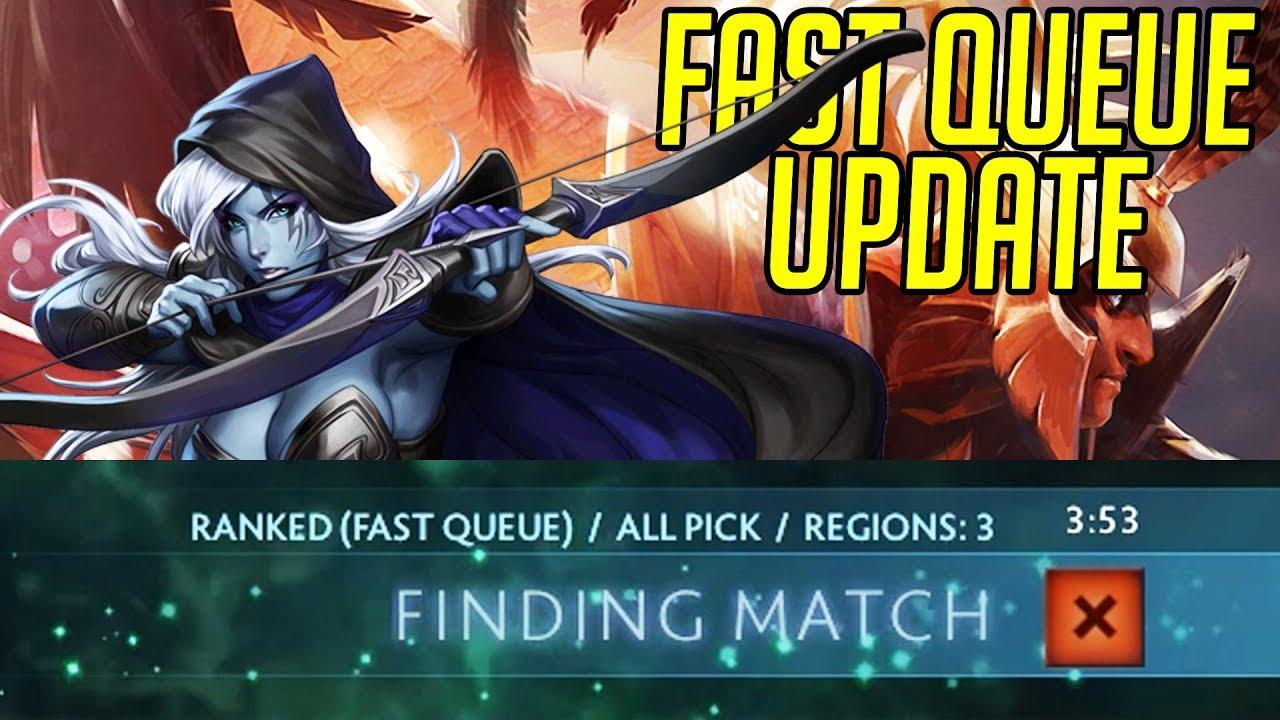 Kết quả hình ảnh cho fast queue dota 2