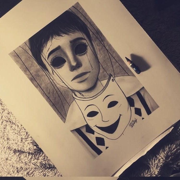 13-Zahraa-AlQallaf-Find-Escapism-in-Drawing-Portraits-www-designstack-co