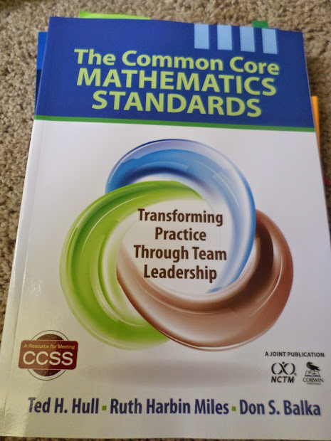 Math Love Common Core Workshop Resources - Day 1