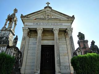 Jazigo-Monumento da Família Chaves Barcellos - Cemitério Santa Casa