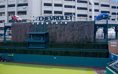 Chevrolet Vehicles Found Their Home at Comerica Park