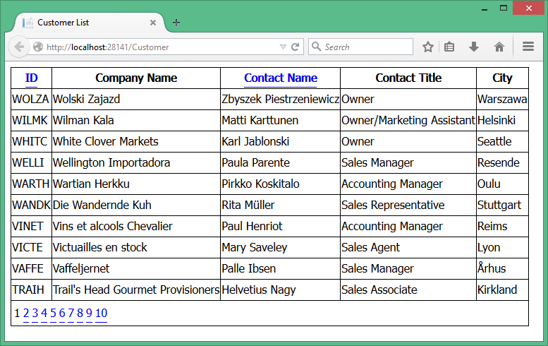Free ASP NET Source Code & Tutorial: GridView Custom Paging and