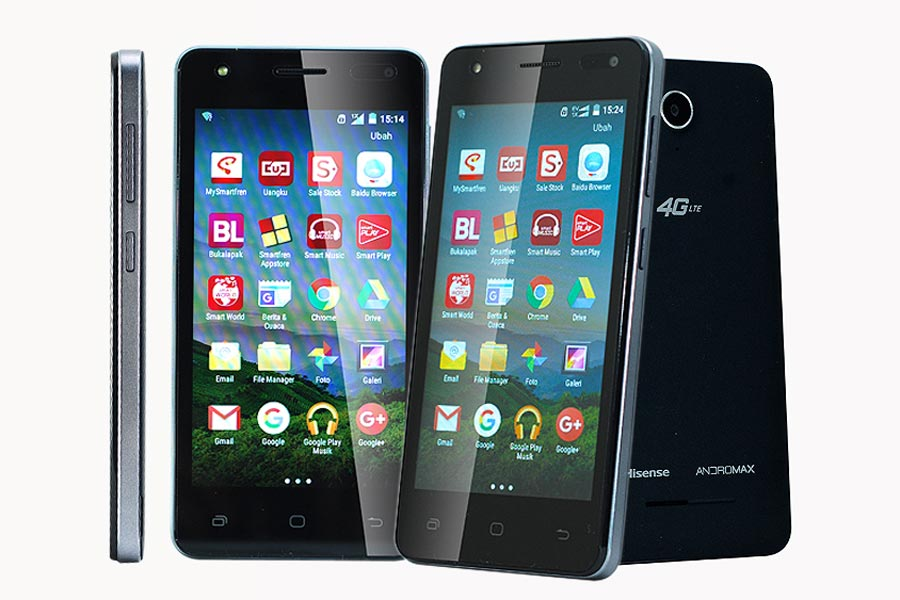 Smartfren Andromax E2+, Ponsel Berharga Murah Dengan Spek Kelas Menengah