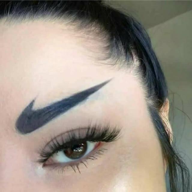 Ela é muito fã da Nike