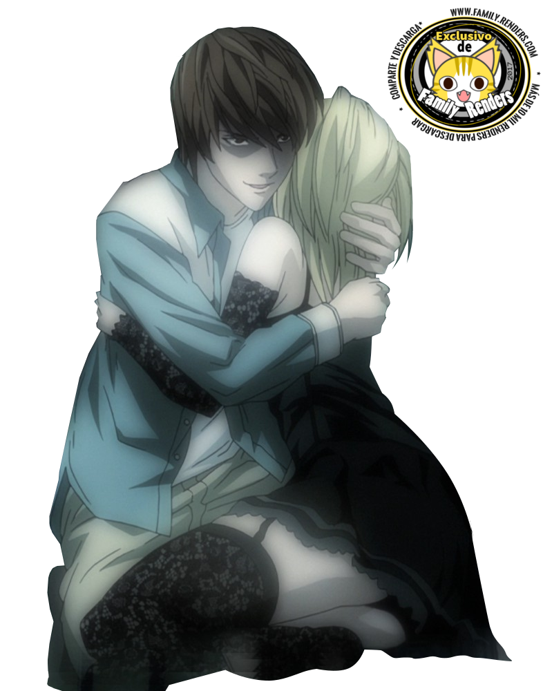 RENDER Misa amane x lIGHT YAGAMI