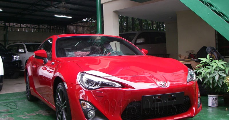 Cars For Sale Philippines Brand New: Cars For Sale In The Philippines: 2013 Toyota FT86 2-Door