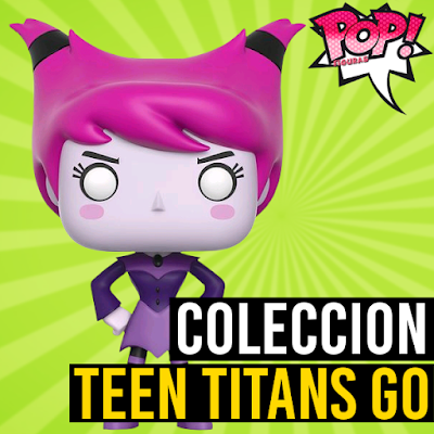 Lista de figuras funko pop de Funko POP Teen Titans GO