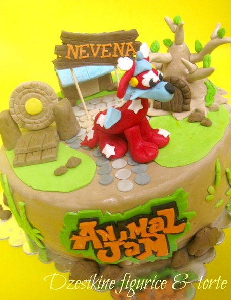 Animal Jam Birthday Cake Were To Click