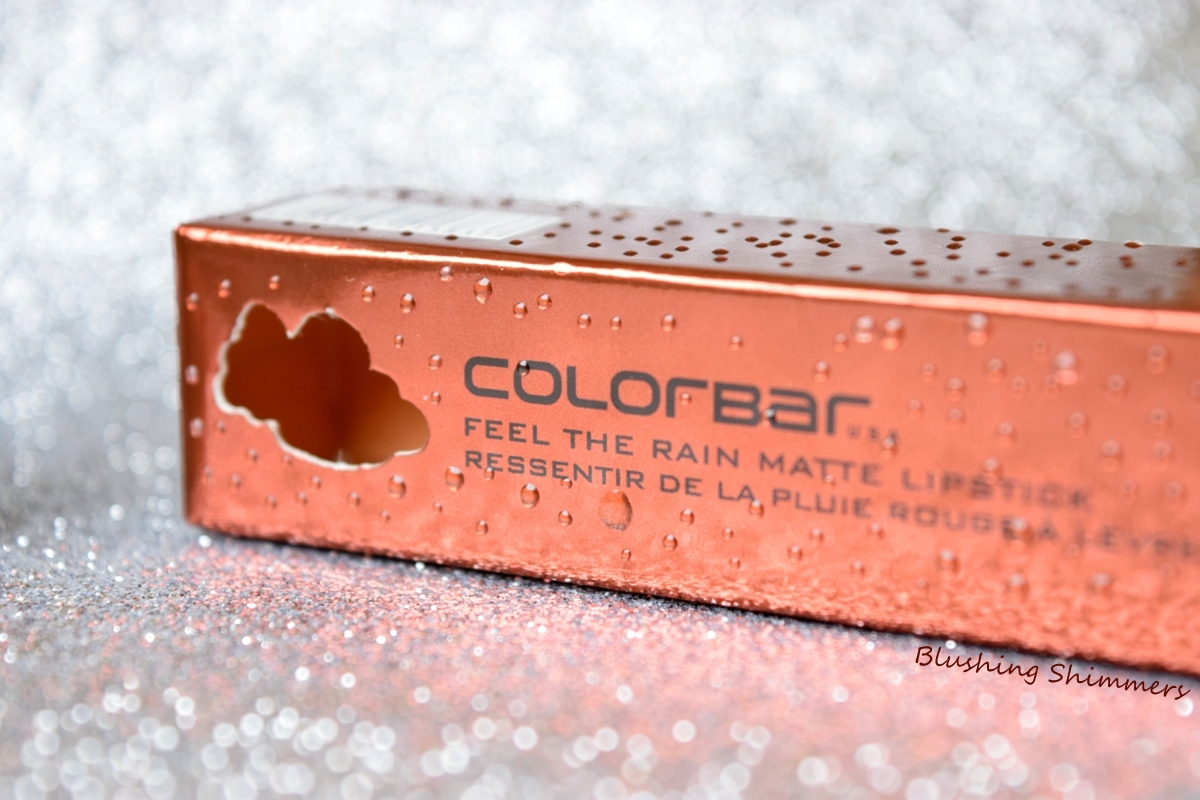 Colorbar 'Feel The Rain' Matte Lipstick