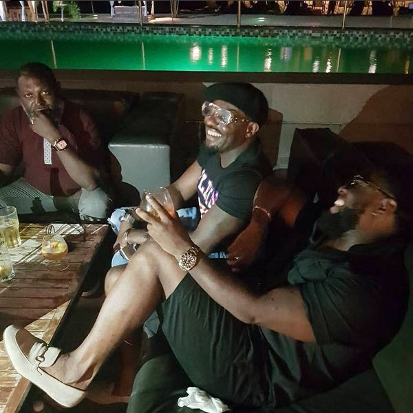 Jim Iyke and Timaya hang out (photos)