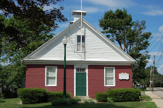 Franklin's Red Brick School, an original one room school house