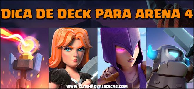 Deck para Arena 4 Clash Royale