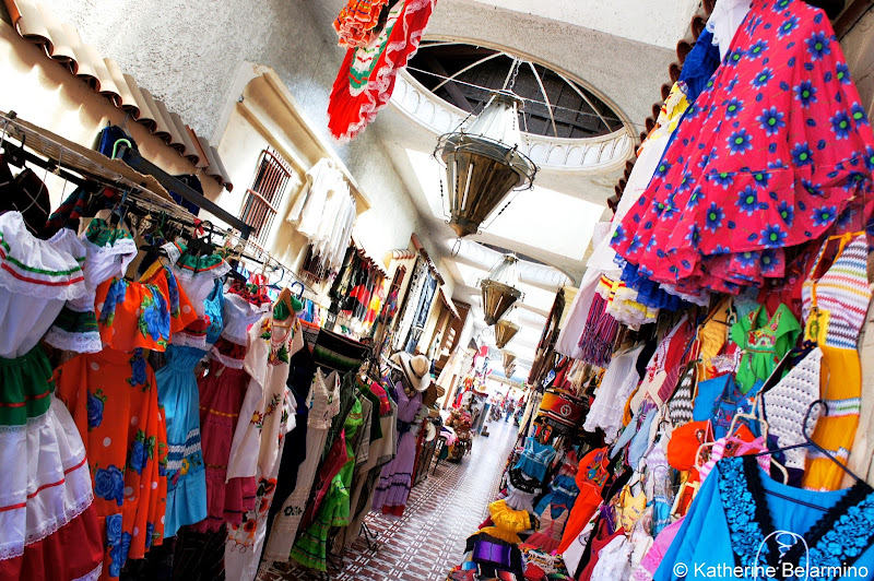 Downtown Tijuana Shopping Passageway