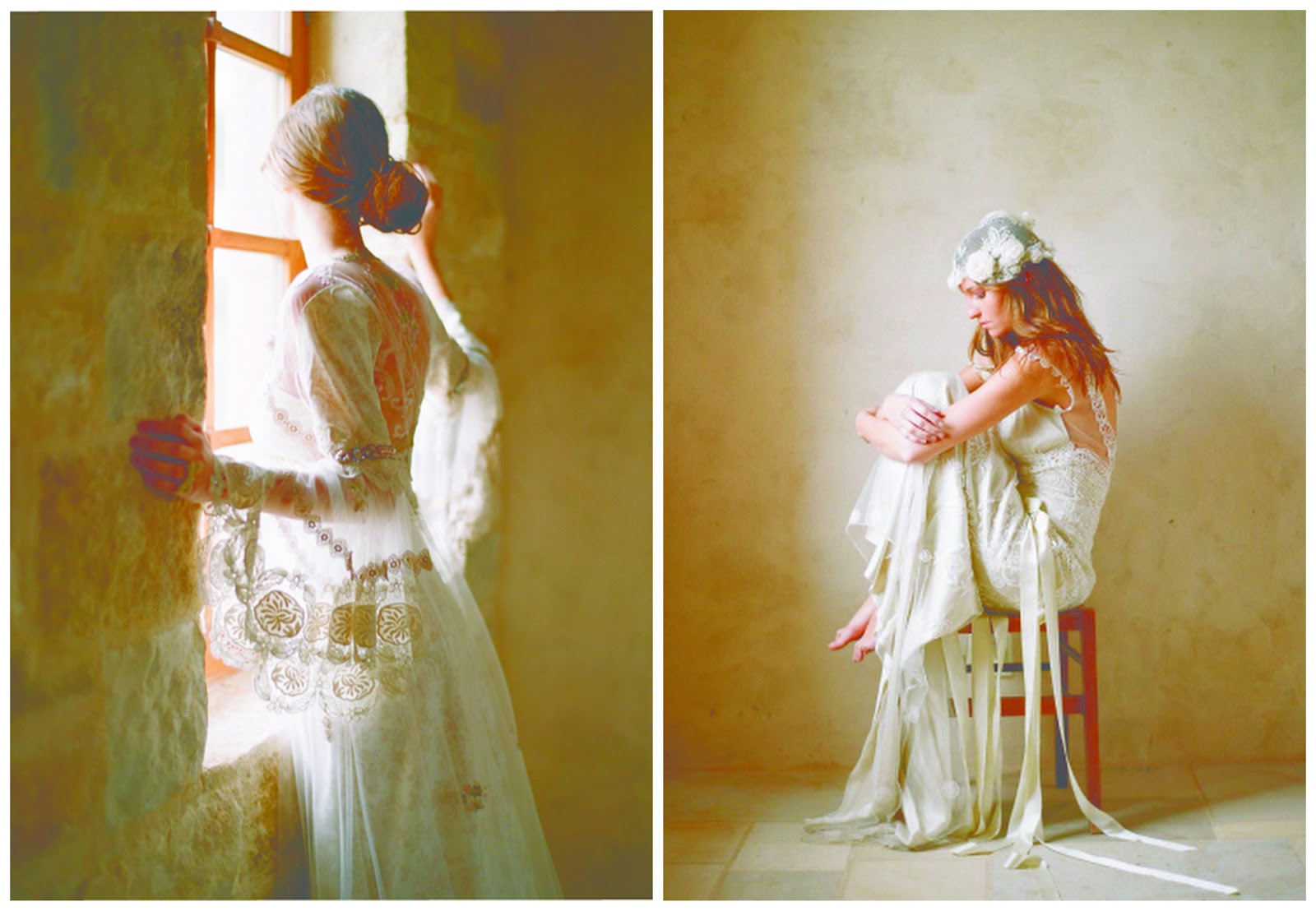 Vintage Romantic Wedding Dresses By Claire Pettibone