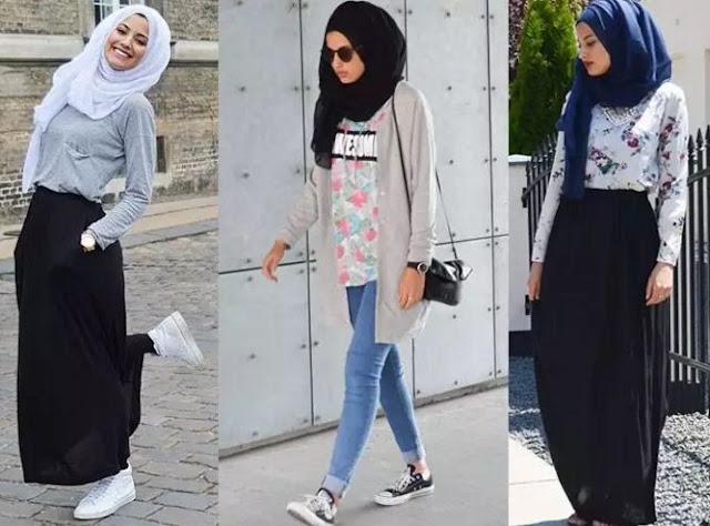 Kumpulan Model Busana Muslim Ngetrend Untuk Bulan Ramadhan 2017