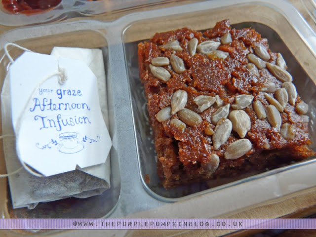 Graze - Nature Delivered - Super Carrot Cake with an Afternoon Infusion
