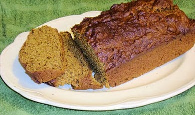 Weight Watchers Spiced Pumpkin Bread border=