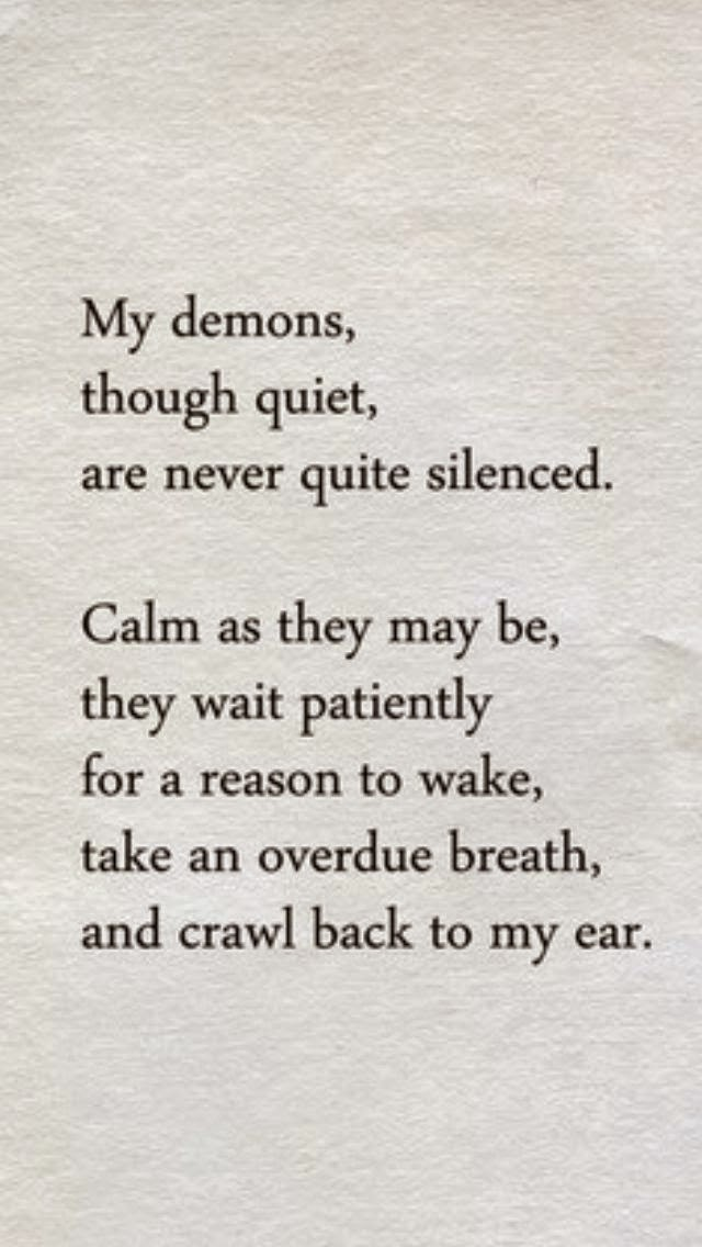 Inner Demons Quotes Sayings Inner Demons Picture Quotes