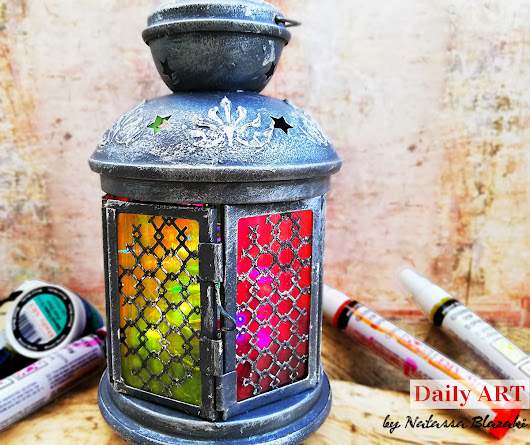 Boho Lantern for Daily ART