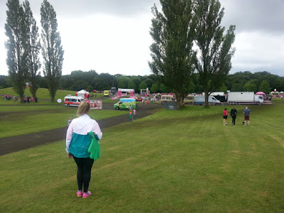 Cancer Research UK Race For Life 2015  #TeamSim at Heaton Park, Manchester